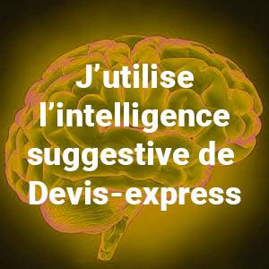 Intelligence suggestive et Devis-Express